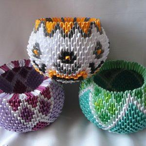 Модульное оригами вазы — простая схема по сборке своими руками. Пошаговая инструкция для начинающих + 125 фото лучших идей